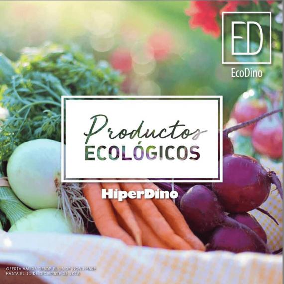 Diseño de catálogo de productos ecológicos Hiperdino