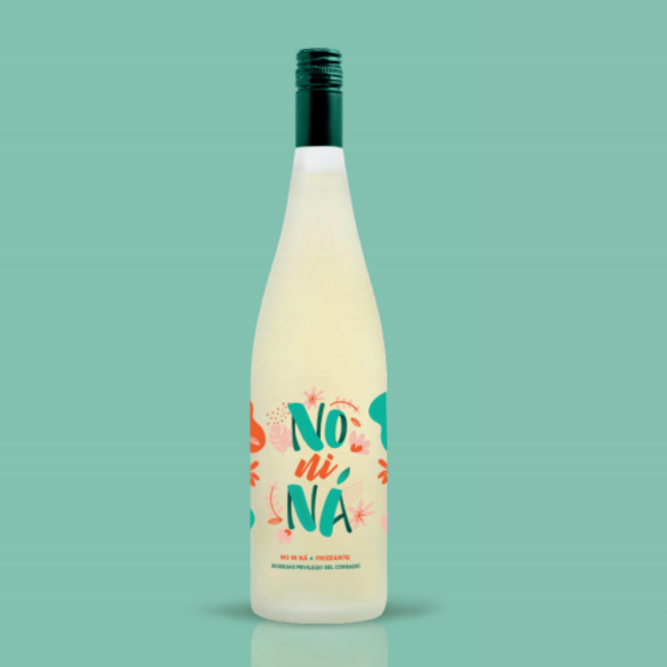 Diseño de etiqueta de vino no ni ná