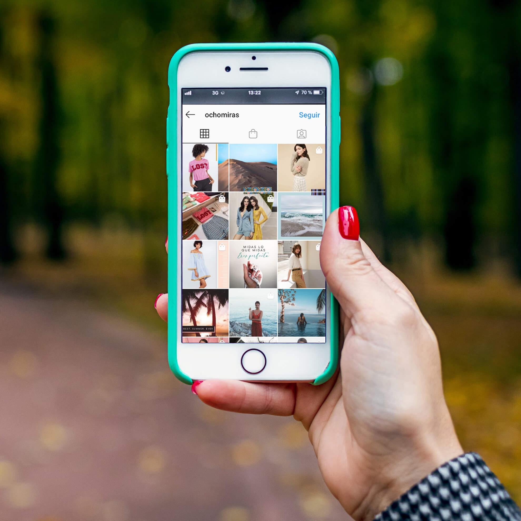 ocho miras feed instagram