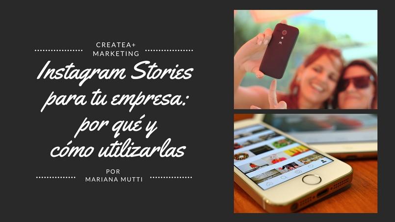 instagram stories para tu empresa