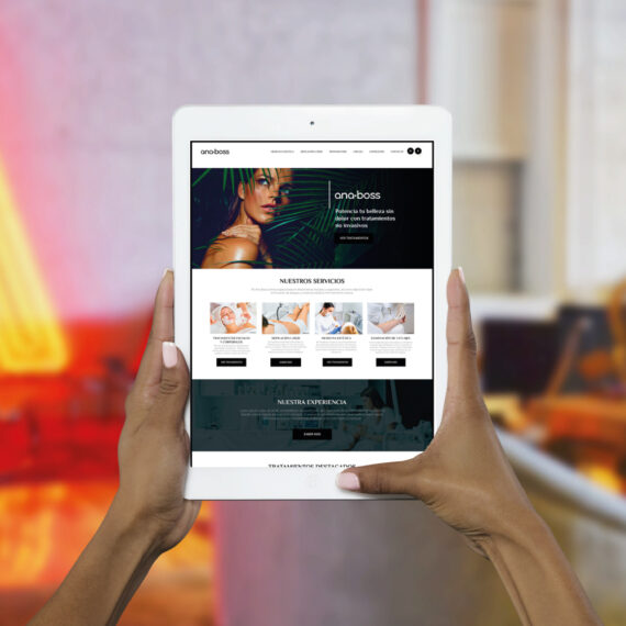 Diseño Web Ana Boss